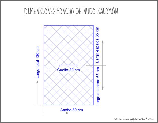 Dimensiones poncho