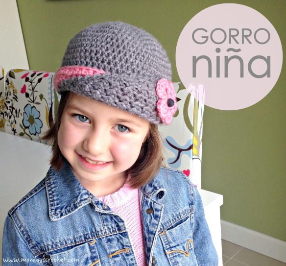 GORRO PARA NIÑA DE 6 AÑOS   HAT FOR A 6 YEARS OLD GIRL  462947e7dca